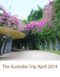 The Australia Trip April 2014/