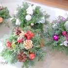作品No. FC-0013 Fresh Flower Christmas(¥3,000〜)