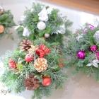作品No. FC-0013 Fresh Flower Christmas(¥3,000〜)
