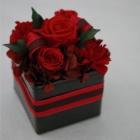 作品No. P1-018: size: 10x10x13cm  (Preserved Flower 〜¥4,000)