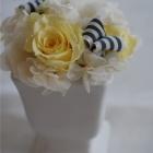 作品No. P1-033: size: 11x11x14cm  (Preserved Flower 〜¥4,000)