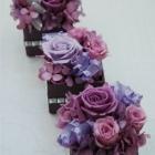 作品No. P1-036: size: 7x7x9cm  (Preserved Flower 〜¥4,000)