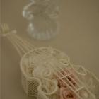作品No. P1-023: size: 10x10x15cm  (Preserved Flower 〜¥4,000)