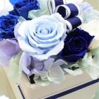 作品No. P1-047: size: 10x10x11cm  (Preserved Flower 〜¥4,000)