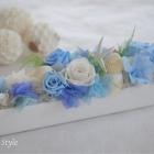 作品No.P2-046 size: 35x9x12cm  (Preserved Flower ¥4,000〜¥8,000)