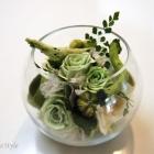 作品No. P2-003 size: 15x15x12cm(Preserved Flower ¥4,000〜¥8,000)