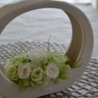 作品No.P2-073 size: 20x7x18cm  (Preserved Flower ¥4,000〜¥8,000)