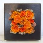 作品No. P2-006 size: 18x18x7cm(Preserved Flower ¥4,000〜¥8,000)