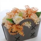 作品No. P2-019 size: 21x12x18cm(Preserved Flower ¥4,000〜¥8,000)