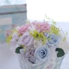 作品No. P2-011 size: 15x15x15cm(Preserved Flower ¥4,000〜¥8,000)