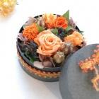 作品No.P2-030 size: 13x13x7cm  (Preserved Flower ¥4,000〜¥8,000)