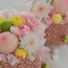 作品No.P2-088 size: 10x10x12cm  (Preserved Flower ¥4,000〜¥8,000)