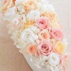 作品No.P3-022 size: 30x12x10cm  (Preserved Flower ¥8,000〜¥12,000)