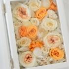 作品No. P4-007 size: 15(30)x20x6cm(Preserved Flower ¥12,000〜)